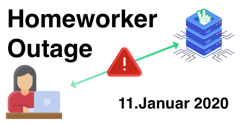 Homeworker Ausfall vom 11.01.2021